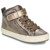 Scarpe Bambina Sneakers alte Geox KALISPERA Oro