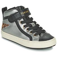 Scarpe Bambina Sneakers alte Geox KALISPERA Argento