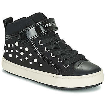 Scarpe Bambina Sneakers alte Geox KALISPERA Nero