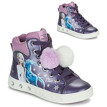 Scarpe Bambina Sneakers alte Geox SKYLIN Viola