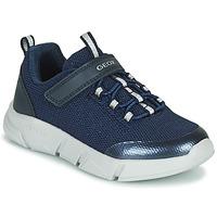 Scarpe Bambina Sneakers basse Geox ARIL Blu