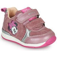 Scarpe Bambina Sneakers basse Geox RISHO Rosa