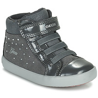 Scarpe Bambina Sneakers alte Geox GISLI Grigio