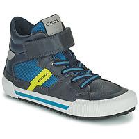 Scarpe Bambino Sneakers alte Geox ALONISSO Blu