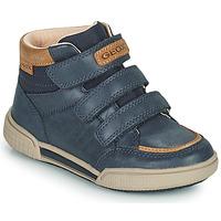 Scarpe Bambino Sneakers alte Geox POSEIDO Marine