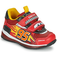 Scarpe Bambino Sneakers basse Geox TODO Rosso / Giallo