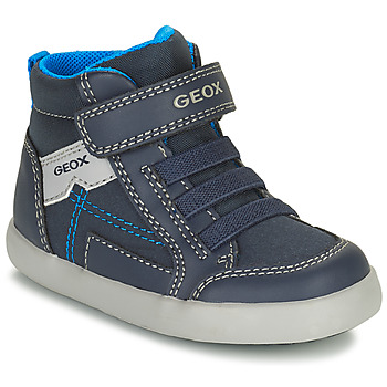 Scarpe Bambino Sneakers alte Geox GISLI Marine