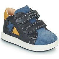 Scarpe Bambino Sneakers basse Geox BIGLIA Marine