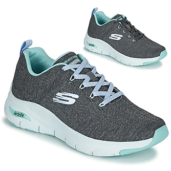 Scarpe Donna Sneakers basse Skechers ARCH FIT Grigio / Blu