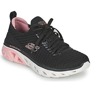 Scarpe Donna Sneakers basse Skechers GLIDE-STEP SPORT Nero / Rosa