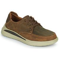 Scarpe Uomo Sneakers basse Skechers PROVEN Marrone