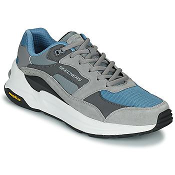 Scarpe Uomo Sneakers basse Skechers GLOBAL JOGGER Grigio / Blu