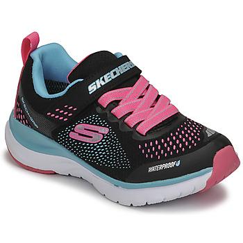Scarpe Bambina Sneakers basse Skechers ULTRA GROOVE Nero / Rosa / Blu