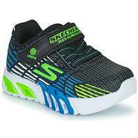 Scarpe Bambino Sneakers basse Skechers FLEX-GLOW ELITE Nero / Blu