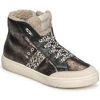 Scarpe Donna Sneakers alte Meline CAR1425 Nero