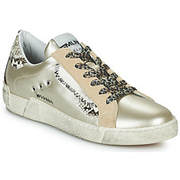 Scarpe Donna Sneakers basse Meline NK139 Oro / Python