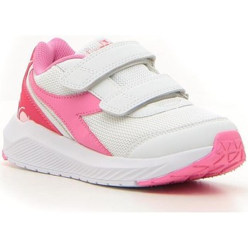 Scarpe Bambina Running / Trail Diadora FALCON BIANCO