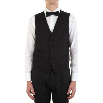 Abbigliamento Uomo Gilet da completo Manuel Ritz 3030W9077-213029 Nero