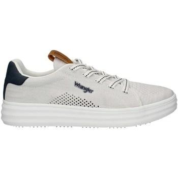 Scarpe Uomo Sneakers basse Wrangler WM11000A-W0051PE21 Basse Uomo WHITE WHITE