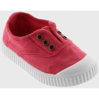 Scarpe Unisex bambino Sneakers basse Victoria 106627 Rosso
