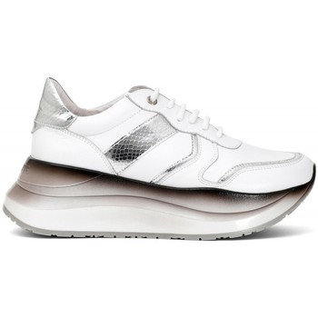 Scarpe Donna Sneakers basse Café Noir CafèNoir Sneakers Bianco-Nero Multicolore
