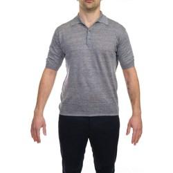 Abbigliamento Uomo Polo maniche corte Hosio 21106M11/14 GRI Polo Uomo Uomo Grigio Melange Grigio Melange