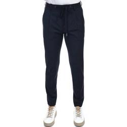 Abbigliamento Uomo Pantaloni 5 tasche Hosio 21403P2/40 BLU S Pantalone Uomo Uomo Blu Scuro Blu Scuro
