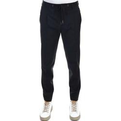 Abbigliamento Uomo Pantaloni 5 tasche Hosio 21403P2/40 NERO Pantalone Uomo Uomo Nero Nero