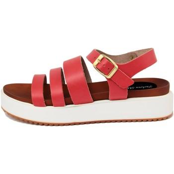 Scarpe Donna Sandali Fashion Attitude  Rosso