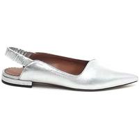 Scarpe Donna Ballerine Isabel Ferranti , scarpe donna, decollet?, pelle argento