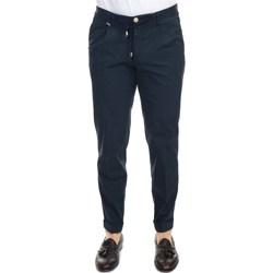 Abbigliamento Uomo Pantaloni 5 tasche Barbati GREGORY 561/111 BLU Pantalone Uomo Uomo Blu Scuro Blu Scuro