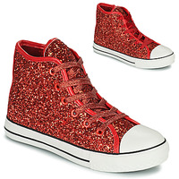Scarpe Bambina Sneakers alte Citrouille et Compagnie OUTIL Rosso