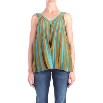 Abbigliamento Donna Top / Blusa Circus Hotel S1/H1SL01 Senza Maniche Donna Water gold Water gold
