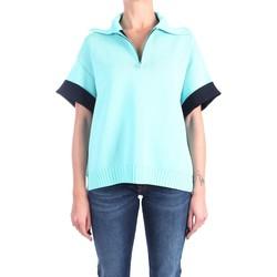 Abbigliamento Donna Polo maniche corte Liviana Conti S1/F1SA07 Collo Alto Donna Oceano/notte Oceano/notte