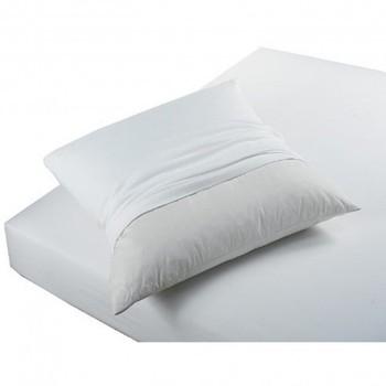 Casa Federa cuscino, testata Today PROTÈGE OREILLERS ABSORBANT ANTI ACARIENS Bianco