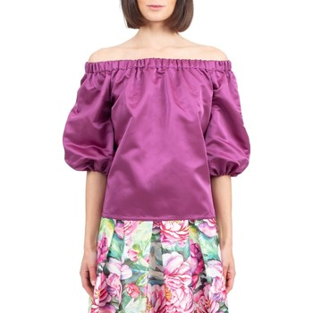 Abbigliamento Donna Top / Blusa Giada Curti Camicia Bordeaux