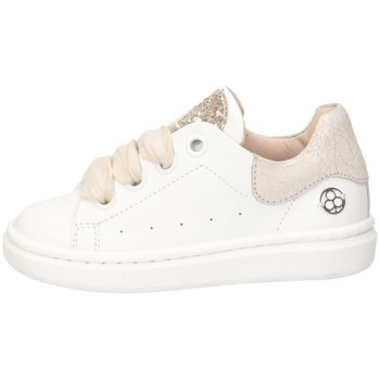 Scarpe Bambina Sneakers basse Florens E055232D BIANCO/PLATINO