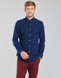 Abbigliamento Uomo Camicie maniche lunghe Polo Ralph Lauren TRENNYB Velours / Blu