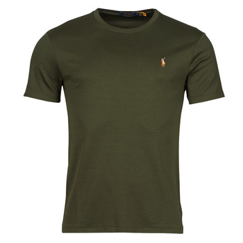 Abbigliamento Uomo T-shirt maniche corte Polo Ralph Lauren TEKAMO Kaki