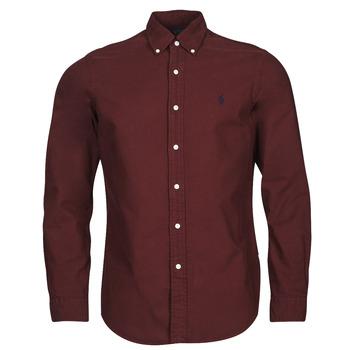 Abbigliamento Uomo Camicie maniche lunghe Polo Ralph Lauren KAOLMA Bordeaux