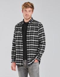 Abbigliamento Uomo Camicie maniche lunghe Polo Ralph Lauren PERINE Nero
