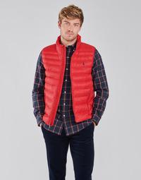 Abbigliamento Uomo Piumini Polo Ralph Lauren PEROLINA Rosso