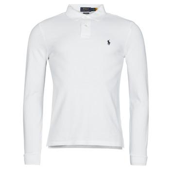 Abbigliamento Uomo Polo maniche lunghe Polo Ralph Lauren TREKINA Bianco