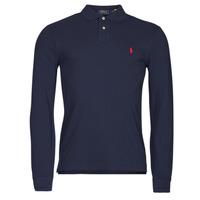Abbigliamento Uomo Polo maniche lunghe Polo Ralph Lauren TREKINA Blu