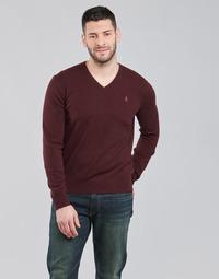Abbigliamento Uomo Maglioni Polo Ralph Lauren SOLIMMA Bordeaux