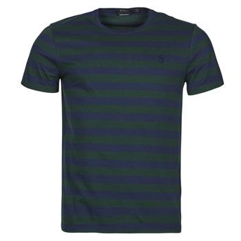 Abbigliamento Uomo T-shirt maniche corte Polo Ralph Lauren POLINE Marine / Verde