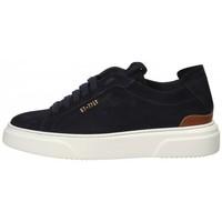 Scarpe Uomo Sneakers basse Stokton Sneaker in camoscio Blu Blu