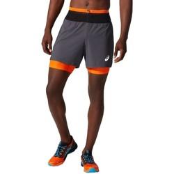 Abbigliamento Uomo Shorts / Bermuda Asics Fujitrail Short Grise