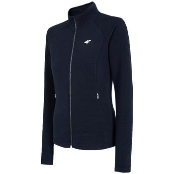 Abbigliamento Donna Giacche sportive 4F Women's Sweatshirt Bleu marine