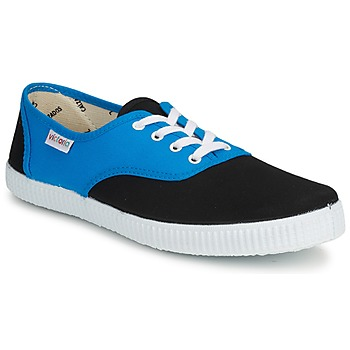 Scarpe Sneakers basse Victoria INGLESA BICOLOR Blu / Nero